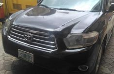 Used black 2008 Toyota Highlander automatic at mileage 0 for sale