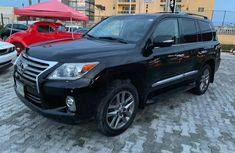Sell black 2014 Lexus LX automatic at price ₦17,300,000 in Lagos