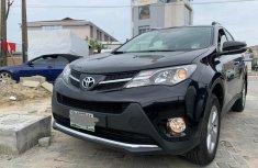 Sell well kept black 2014 Toyota RAV4 suv in Lagos