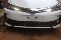 Well maintained white 2019 Toyota Corolla automatic for sale in Lagos