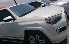 White 2017 Toyota 4-Runner suv  automatic for sale in Lagos