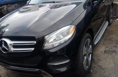 Mercedes-Benz GLE 2016 Petrol Automatic Black for sale