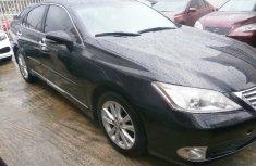 Black 2012 Lexus ES car at attractive price in Lagos