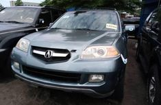 Sell cheap green 2006 Acura MDX suv automatic