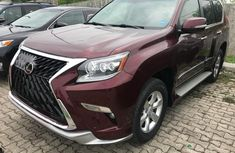 Used red 2018 Lexus GX suv for sale at price ₦25,000,000