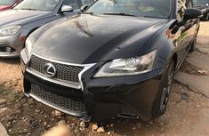 Well maintained 2013 Lexus GS sedan automatic for sale in Ibadan