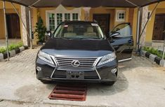 Grey/silver 2014 Lexus RX for sale at price ₦13,000,000