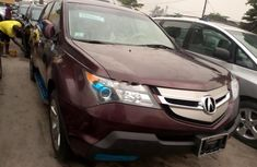 Red 2008 Acura MDX automatic for sale at price ₦3,600,000 in Lagos