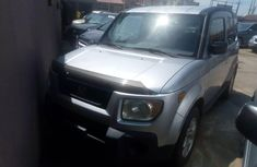 Grey 2007 Honda Element automatic for sale in Lagos