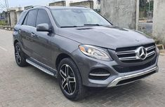 Selling grey 2017 Mercedes-Benz GLE automatic at price ₦17,000,000
