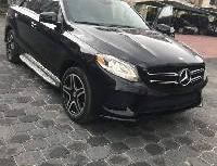 Sell brown 2017 Mercedes-Benz GLE automatic in Lagos at cheap price
