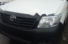 Sell cheap white 2013 Toyota Hilux at mileage 0 in Lagos