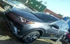 Best priced grey 2017 Toyota RAV4 suv automatic in Lagos