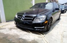 Sell used black 2012 Mercedes-Benz C300 at mileage 69,000