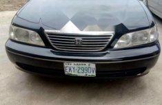 Need to sell black 2002 Honda Legend sedan at price ₦520,000