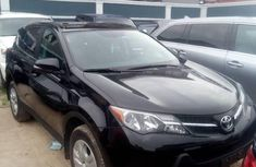 Clean used black 2016 Toyota RAV4 suv automatic for sale in Lagos