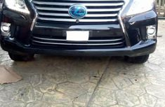 Sell used black 2014 Lexus LX automatic at price ₦26,800,000