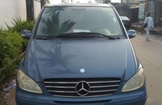 Sell blue 2006 Mercedes-Benz Viano van automatic