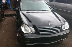 Sell used black 2007 Mercedes-Benz C230 sedan at cheap price