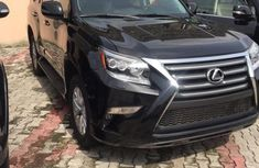 Well maintained black 2016 Lexus GX automatic for sale in Lagos