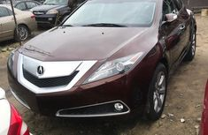 Need to sell high quality 2010 Acura ZDX at price ₦8,500,000