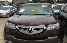 Red 2008 Acura MDX for sale at price ₦3,500,000 in Lagos