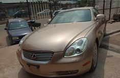 2003 Lexus SC automatic for sale in Lagos