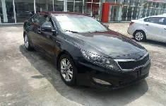 Well maintained black 2012 Kia Optima automatic for sale at price ₦2,000,000