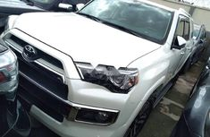 Sell used white 2019 Toyota 4-Runner suv automatic in Lagos