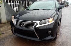 Sell black 2014 Lexus RX at mileage 43 in Lagos at cheap price