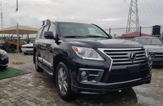 Grey 2010 Lexus LX at mileage 0 for sale in Lagos