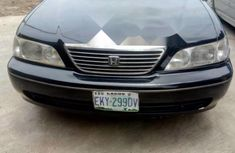 Used black 2002 Honda Legend car automatic at attractive price