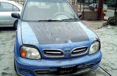 Selling blue 2002 Nissan Micra manual at mileage 0
