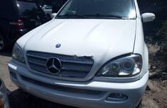 Sell cheap white 2005 Mercedes-Benz ML 320 at mileage 0