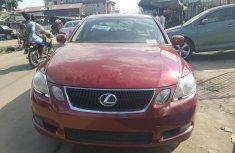 Red 2005 Lexus GS car sedan automatic in Lagos