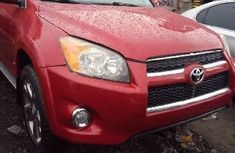 Clean red 2012 Toyota RAV4 car for sale at attractive price