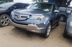 Selling blue 2008 Acura MDX automatic in Lagos