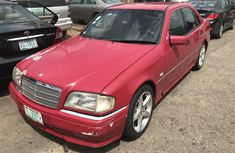 Sell red 2001 Mercedes-Benz C280 automatic at price ₦720,000 in Lagos