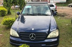 Sell cheap blue 2003 Mercedes-Benz ML 320 suv automatic