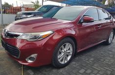 Sell well kept red 2013 Toyota Avalon automatic at mileage 0