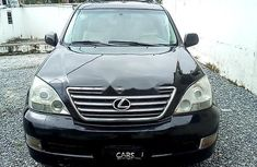 Selling black 2009 Lexus GX automatic in good condition in Lagos