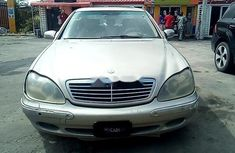 Well maintained 2000 Mercedes-Benz S500 automatic at mileage 0 for sale