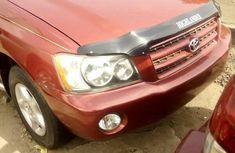 Need to sell cheap used red 2005 Toyota Highlander at mileage 0