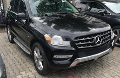 Selling 2012 Mercedes-Benz ML in good condition in Lagos