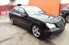 Black 2005 Mercedes-Benz C320 for sale at price ₦1,550,000