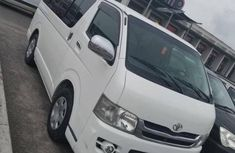 Clean direct used white 2012 Toyota HiAce automatic