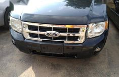 Sell black 2010 Ford Escape automatic at price ₦1,450,000