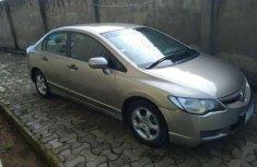 Grey 2008 Honda Civic sedan for sale at price ₦950,000 in Ibadan