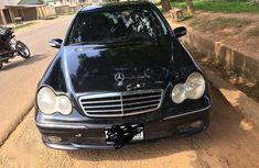 Best priced black 2007 Mercedes-Benz C230 automatic at mileage 170,000