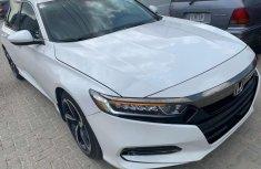 Selling grey 2018 Honda Accord automatic at price ₦17,000,000